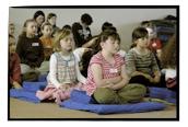 Link que redirige hacia la página internacional de los cursos de niños